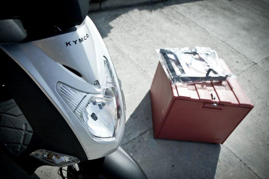 Pizza box + Agility? Savršeno dostavno vozilo!