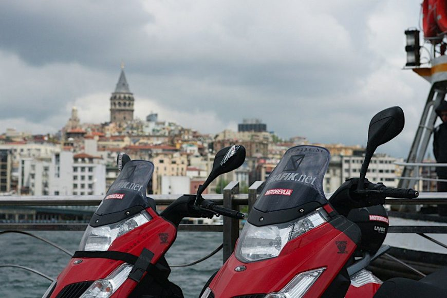 KYMCO NEW DINK 50 na putu do Istambula