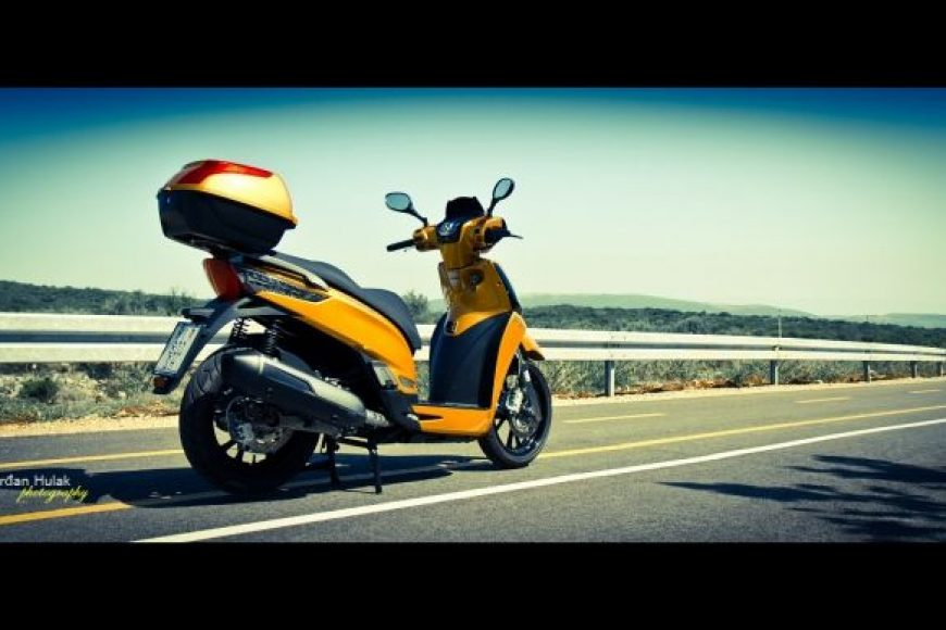 Službeni KYMCO People GT 300i trailer