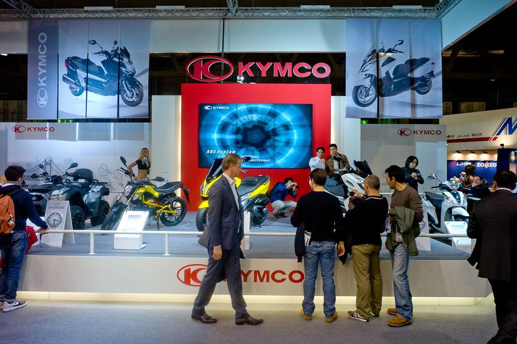KYMCO noviteti na najvećem moto sajmu u Milanu 2011.!
