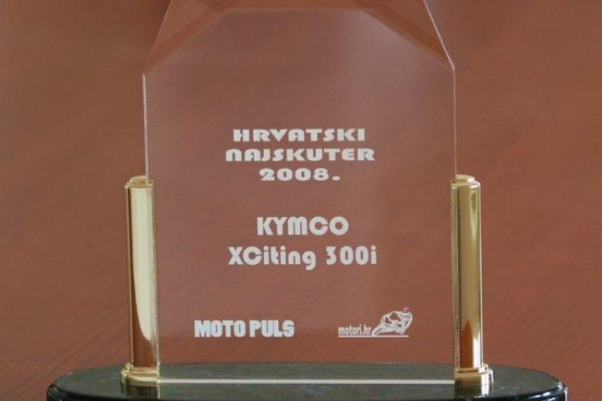 KYMCO XCITING HRVATSKI SKUTER GODINE!